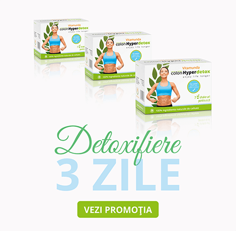 Vitamunda cura de slabit si detoxifiere - promotie
